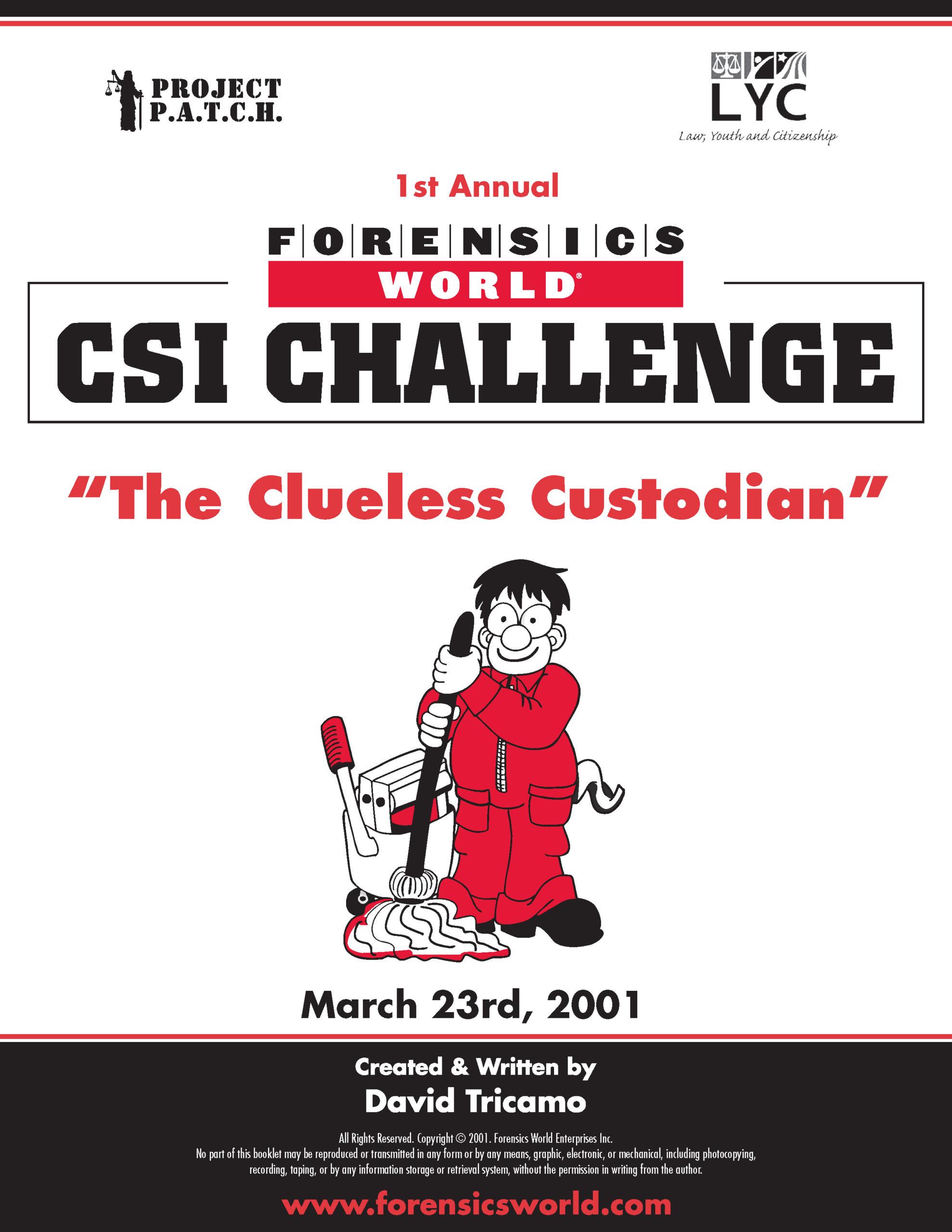 2001 CSI Challenge