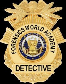 Detectives Badge