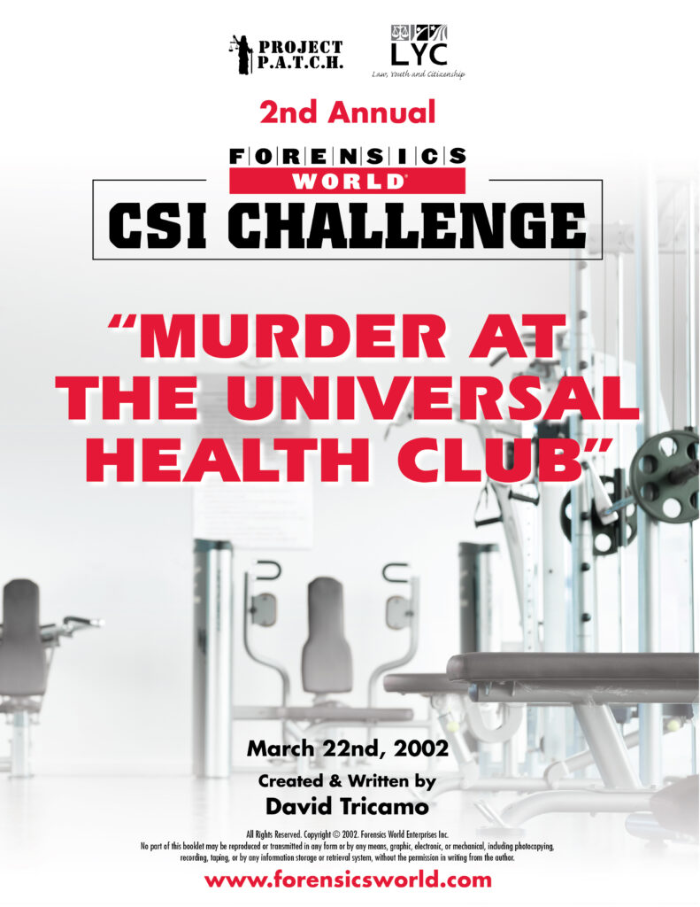 Murder at the Universal Health Club